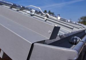 Leichtmetall Dach